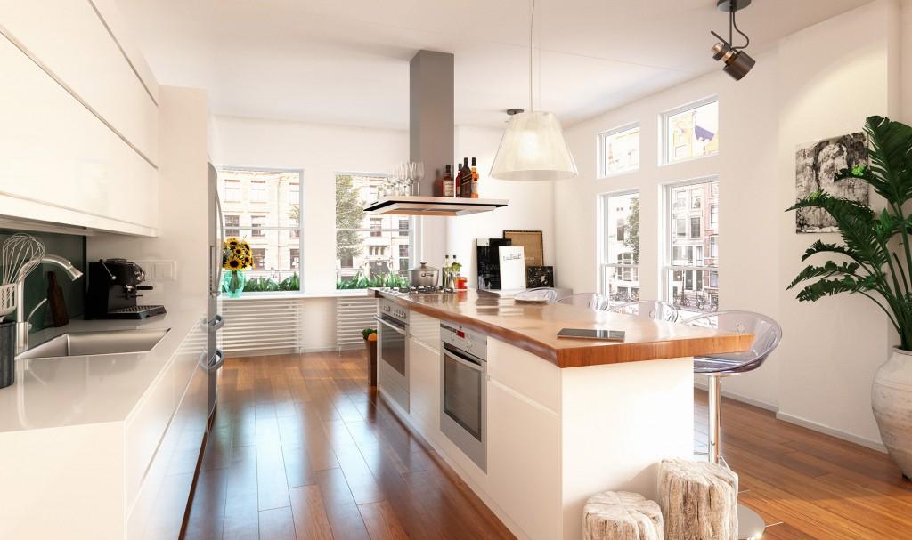 House Design Keuken : Home cg presentations