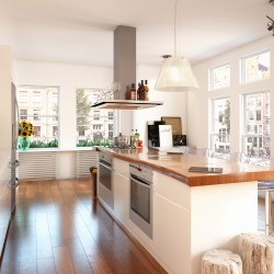 3D keuken impressie